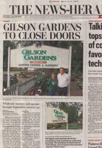 Garden Center Gilson Gardens Inc
